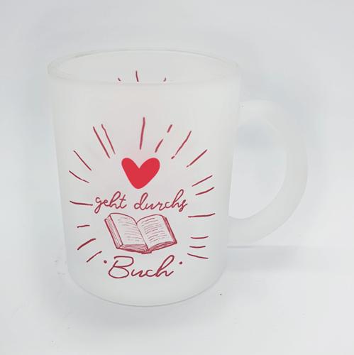Tasse Liebe geht durchs Buch