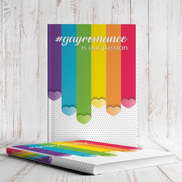 Notizbuch #gayromance is our passion