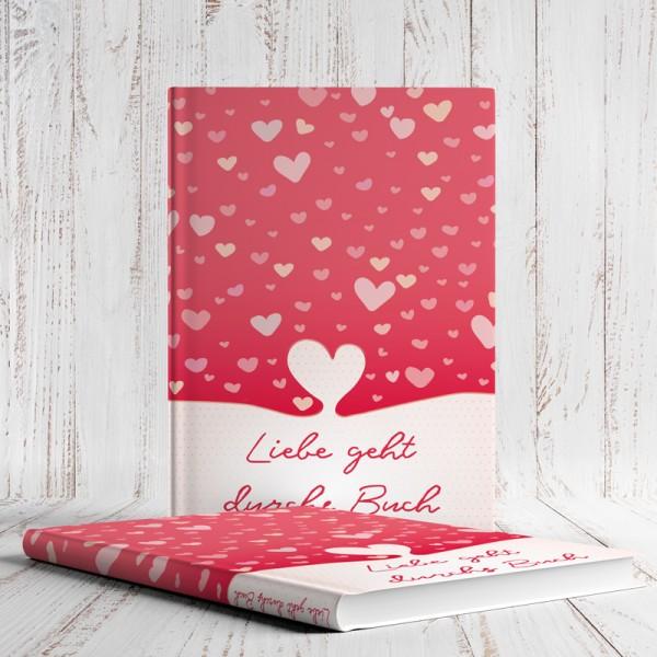 Notizbuch Liebe geht durchs Buch